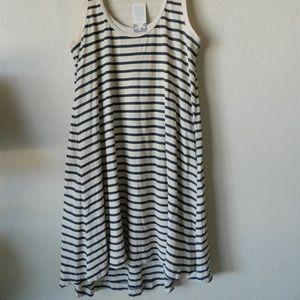 Splendid Jersey Knit Dress sleeveless Tank Striped